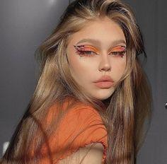 Edgy Makeup, Makeup Eye Looks, Eye Makeup Art, Halloween Makeup Looks, Crazy Makeup, Cute Makeup, Pretty Makeup, Skin Makeup, Beauty Makeup