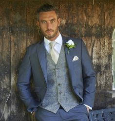 Navy Blue Men Suits Blazer Slim Fit Bridegroom Wedding Suits For Man Groom Formal Tailored Made Tuxedo Terno Masculino 2 Pieces Jacket Pants, Wedding Groom, Wedding Men, Wedding Attire, Bride Groom, Tuxedo Wedding, Wedding Ideas, Blue Wedding, Blue Tweed Wedding Suits, Spring Wedding