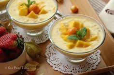 Rice Bowl Tales: 芒果椰汁西米露《港式甜品》Mango Sago in Coconut Milk (Hong Kong style desserts)