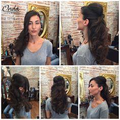 Peinado + semi recogido + maquillaje - Blow dry + simple hair up + make up by Onda Salon Team.  #OndaSalon #peinado #recogido #semirecogido #maquillaje #blowdry #hairup #simplehairup #makeup #peluqueriaBarcelona #peinadoBarcelona #recogidoBarcelona #maquillajeBarcelona #blowdryBarcelona #hairupBarcelona #makeupBarcelona #esteticaBarcelona #centrodeesteticaBarcelona #Barcelona #Barceloneta