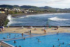 Ribeira Grande pool view