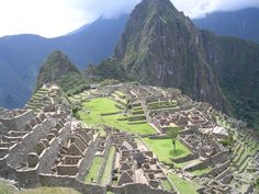 "Machu Pichu must have been pretty cool back in its heyday.  ""You want to build a city where???"""