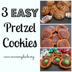 Easy Pretzel Cookies