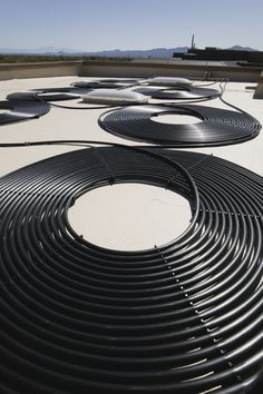 A solar water heater can take many different forms.