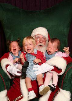 Best Santa photo ever. Bwahahahaha