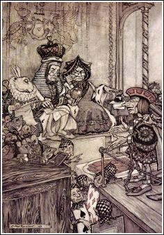 Arthur Rackham's Illustrations of Alice's Adventures in Wonderland — Alice's Adventures In Wonderland — Medium