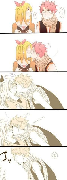 Fairy tail natsu and lucy ;)