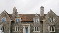 St Paul's Almshouses, Salisbury, Wiltshire, converted into flats for homeless people, 2012.