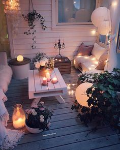 Wohnkultur Ideen DIY Dilek Wintergarten Ideen Wohnkultur Ideen DIY Dilek / Home decor ideas DIY Dilek Conservatory ideas Home decor ideas DIY Dilek / How to set up a baby room Sometimes it is difficult to find a new look for your home. Decorating is e Outdoor Spaces, Outdoor Living, Outdoor Decor, Dream Rooms, Backyard Patio, Cozy Patio, Backyard Ideas, Small Patio Ideas On A Budget, Backyard Decorations