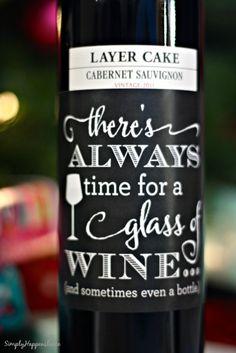 DIY Wine Hostess Gift