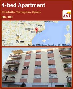 4-bed Apartment in Cambrils, Tarragona, Spain ►€84,100 #PropertyForSaleInSpain