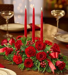 All Red Centerpiece for #Christmas. #decor $39.99