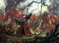 Warhammer-40-000-Adeptus-Mechanicus-font-b-game-b-font-4-Sizes-Silk-Fabric-Canvas-Poster.jpg (1024×748)
