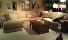 SEE IT, SNAP IT, POST IT Facebook contest entry: Microfiber Sectional