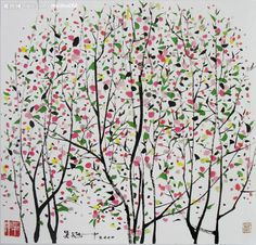 geritsel:  Oh this is so Wu Guanzhong I love his work a lot. MB.