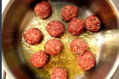 Best spaghetti and meatball recipe!  I'm not Italian but these are the tastiest meatballs! Courtesy of Smitten Kitchen