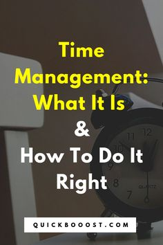The Time Management Guide: What It Is And How To Do It Right Time management is a necessity when it comes to making use of your 24 hours each day. Learn what time management is and how to do it right in this essential guide! Time Management Activities, Time Management Printable, Time Management Quotes, Time Management Tools, Effective Time Management, Time Management Strategies, High School Activities, Activities For Teens, Productivity Quotes