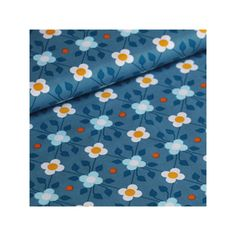 Tissu enduit Toddler Ivy bleu foncé 20 x 145 cm  Soft Cactus