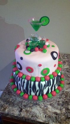 jello shot cake 3 tier jello quot cake quot ideas cakes 5253