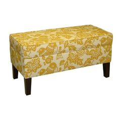 lovely storage bench for the study, or maybe in a different color in our entryway