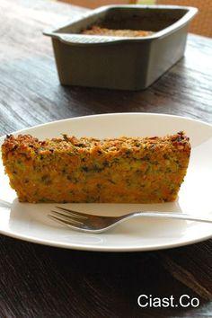 Pieczeń z cukinii i marchewki Healthy Cooking, Healthy Snacks, Cooking Recipes, Gluten Free Recipes, Vegetarian Recipes, Healthy Recipes, No Cook Appetizers, Good Food, Yummy Food