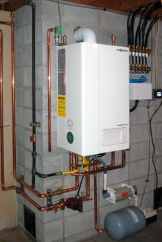 High efficiency hydronic heating with Viessmann boilers ...