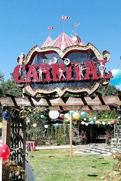 carnival wedding- this is the best one i've seen so far!