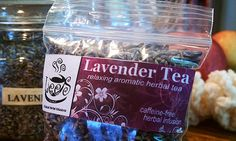 Organic Herbal Teas Premium Whole Bud Lavender Tea by LeesTeas, $5.00