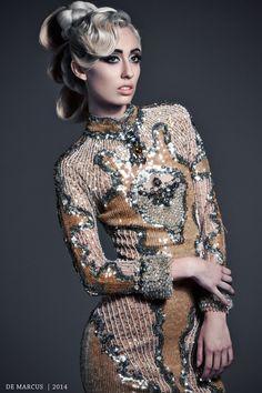 De Marcus Couture 2014 https://www.facebook.com/demarcus  #Fashion #HighFashion #DeMarcus #Designer #WomensFashion #Couture #Gowns #Editorial