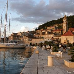 The island of Vis, Croatia