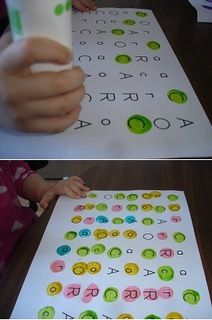 For learning there abc