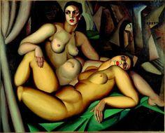 La prospettiva, Tamara de Lempicka, 1923