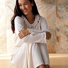 White Organic Cotton Nightgown ♥