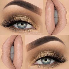 Christmas Eve Eye Makeup