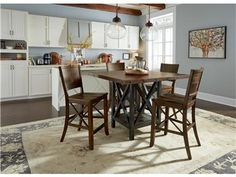 Shop For Flexsteel Square Counter Table, W6722 836, And Other Dining Room  Tables