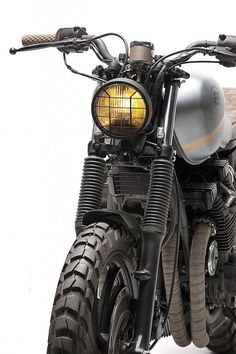 Yamaha XJ750 Scrambler Edition by Dream Wheels Heritage
