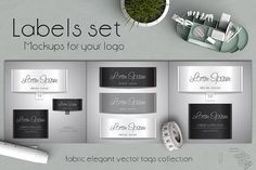 Labels collection by A.Lila on @creativemarket