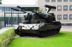 """The Dutch version was officially called the PRTL (PantserRupsTegenLuchtdoelen or """"Armoured Tracked Anti-Aircraft""""), pronounced as """"pruttle"""" by the soldiers."""