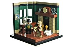 Baker Street — BrickNerd - Your place for all things LEGO and the LEGO fan community Lego Modular, Lego Design, Legos, Lego Lego, Lego Furniture, Furniture Ideas, Minecraft Furniture, Recycled Furniture, Casa Lego