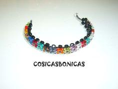 pulsera_swarovski_multicolor_flores