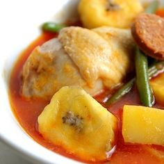 The Savory Side of Cooking with Fruits. Recipe: Chicken Pochero. | Simple, Good and Tasty