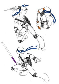 We Are Ninja - Leo by *xSkyeCrystalx on deviantART