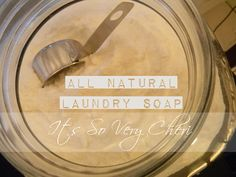How to make your own laundry soap