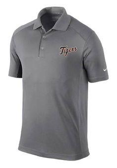 Detroit Tigers Mens Nike Short Sleeve Polo http://www.rallyhouse.com/shop/detroit-tigers-nike-mens-short-sleeve-victory-polo-shirt-grey-19650123?utm_source=pinterest&utm_medium=social&utm_campaign=Pinterest-DetroitTigers $64.99