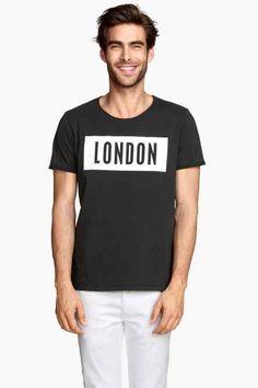 T-shirt avec impression