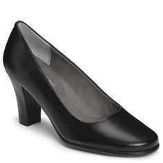 Dolled up Leather Slip On Pump | Women's Shoes | High Heel | Aerosoles