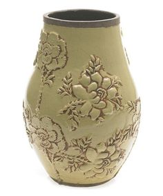 Take a look at this Light Green Carmen Vase by Accent Décor on #zulily today!