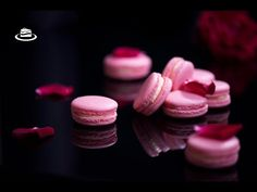 Macarons cu aroma de trandafiri / Rosewater Macarons - YouTube