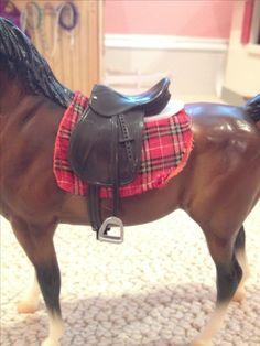 Saddle pad and half pad