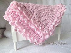 Crochet Baby Blanket PATTERN 89 - Victorian Series - Crochet Symbol PATTERN 89 - Instant Download PDF Pattern